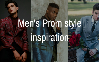 Time to stand out – Men's Prom Style