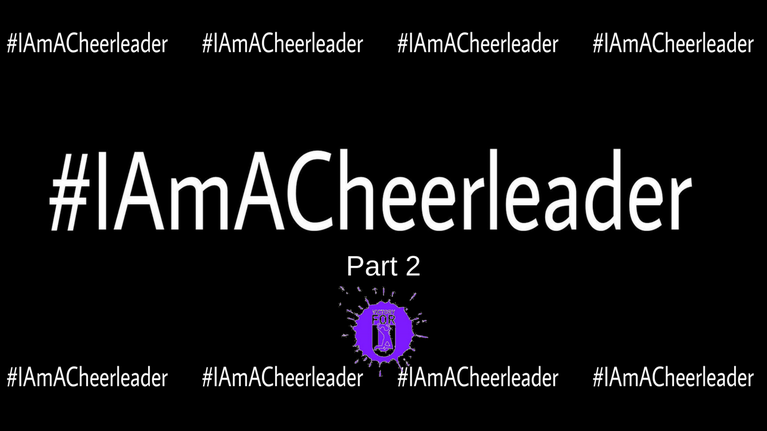 I am a Cheerleader – Part 2: Why It's Important to big yourself up!
