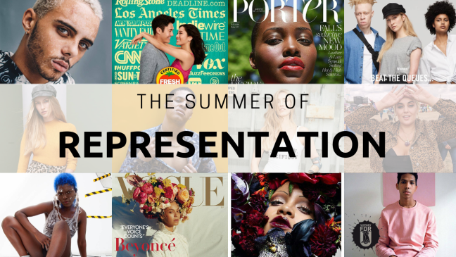 The summer of representation!